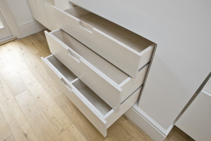 room one inset drawers