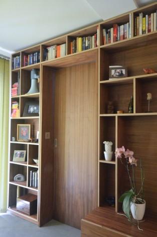 walnut storage wall 4