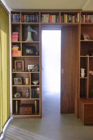 walnut storage wall 5
